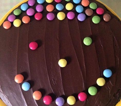 torta al cioccolato pronta